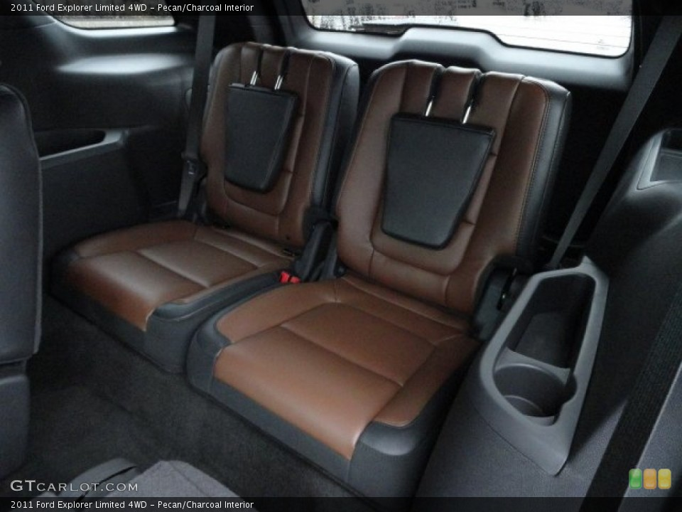 Pecan/Charcoal Interior Photo for the 2011 Ford Explorer Limited 4WD #58187728