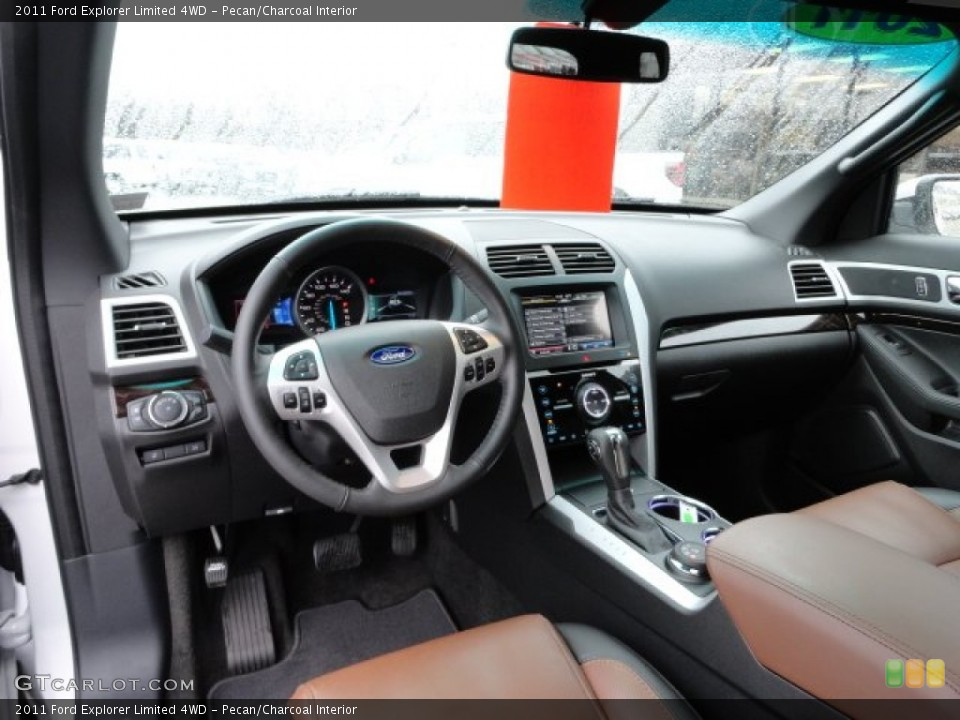 Pecan/Charcoal Interior Prime Interior for the 2011 Ford Explorer Limited 4WD #58187737