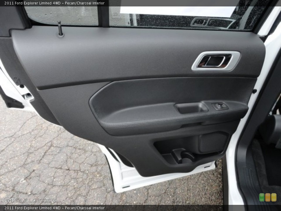 Pecan/Charcoal Interior Door Panel for the 2011 Ford Explorer Limited 4WD #58187746