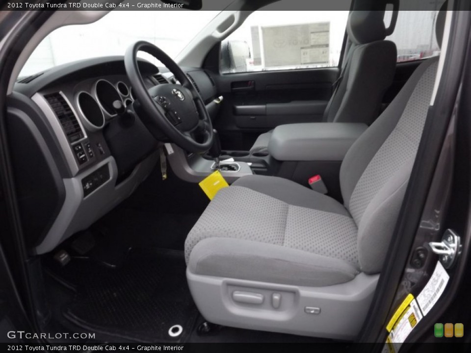Graphite Interior Photo for the 2012 Toyota Tundra TRD Double Cab 4x4 #58477020