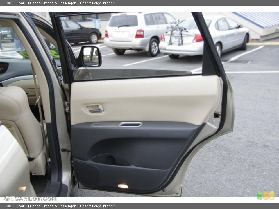 Desert Beige Interior Door Panel for the 2009 Subaru Tribeca Limited 5 Passenger #58655600