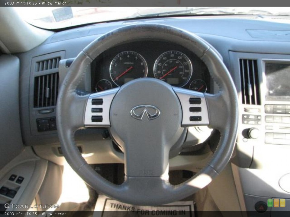 Willow Interior Steering Wheel for the 2003 Infiniti FX 35 #58876851