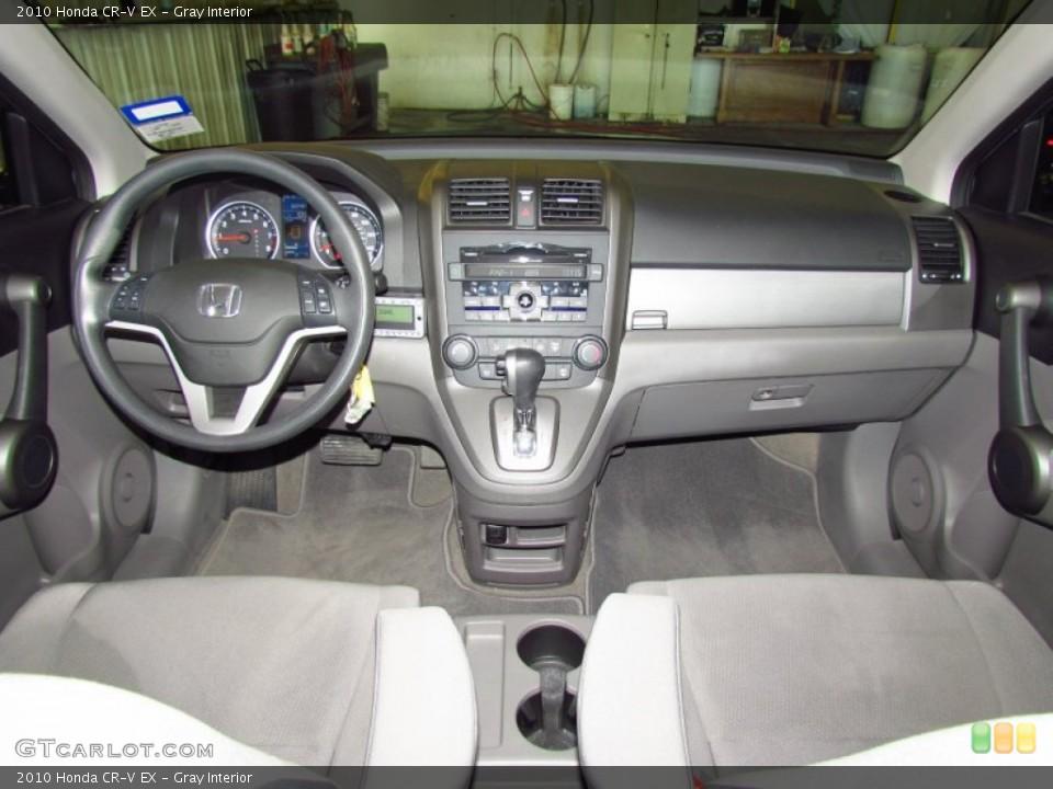 Gray Interior Dashboard for the 2010 Honda CR-V EX #59170897