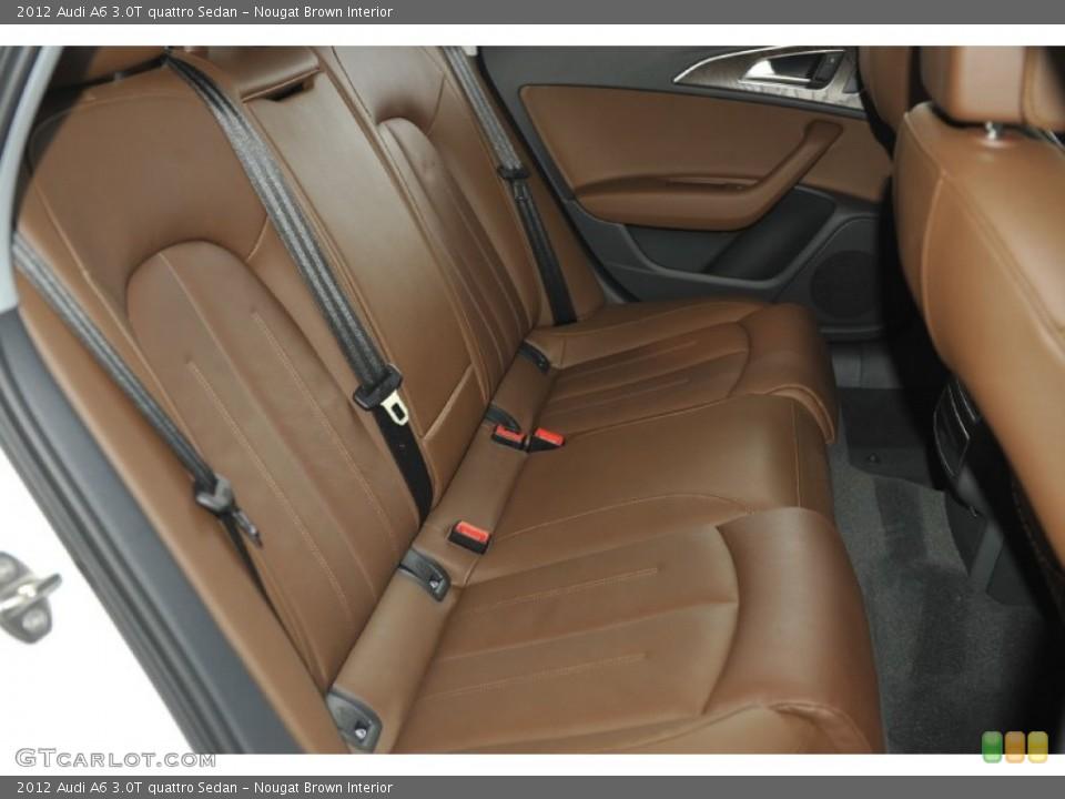 Nougat Brown Interior Photo for the 2012 Audi A6 30T quattro