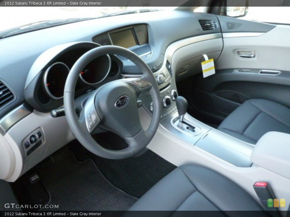 Slate Gray Interior Prime Interior for the 2012 Subaru Tribeca 3.6R Limited #59309114