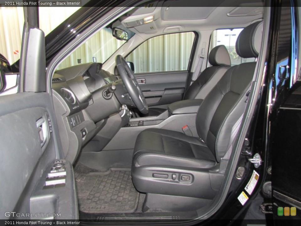 Black Interior Photo for the 2011 Honda Pilot Touring #59330491