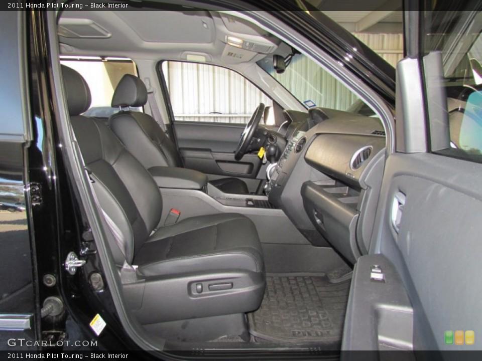 Black Interior Photo for the 2011 Honda Pilot Touring #59330500