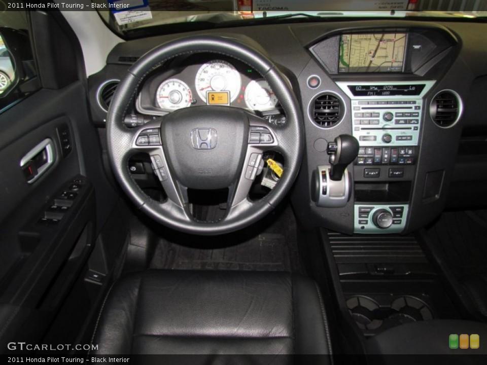 Black Interior Dashboard for the 2011 Honda Pilot Touring #59330542