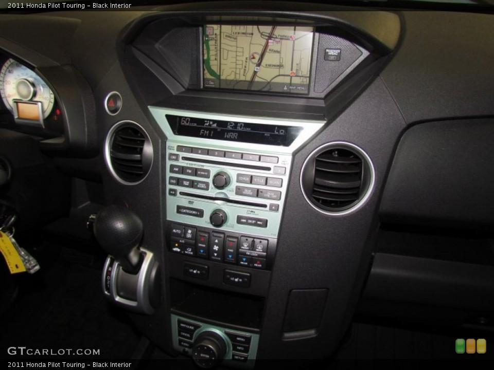 Black Interior Controls for the 2011 Honda Pilot Touring #59330559