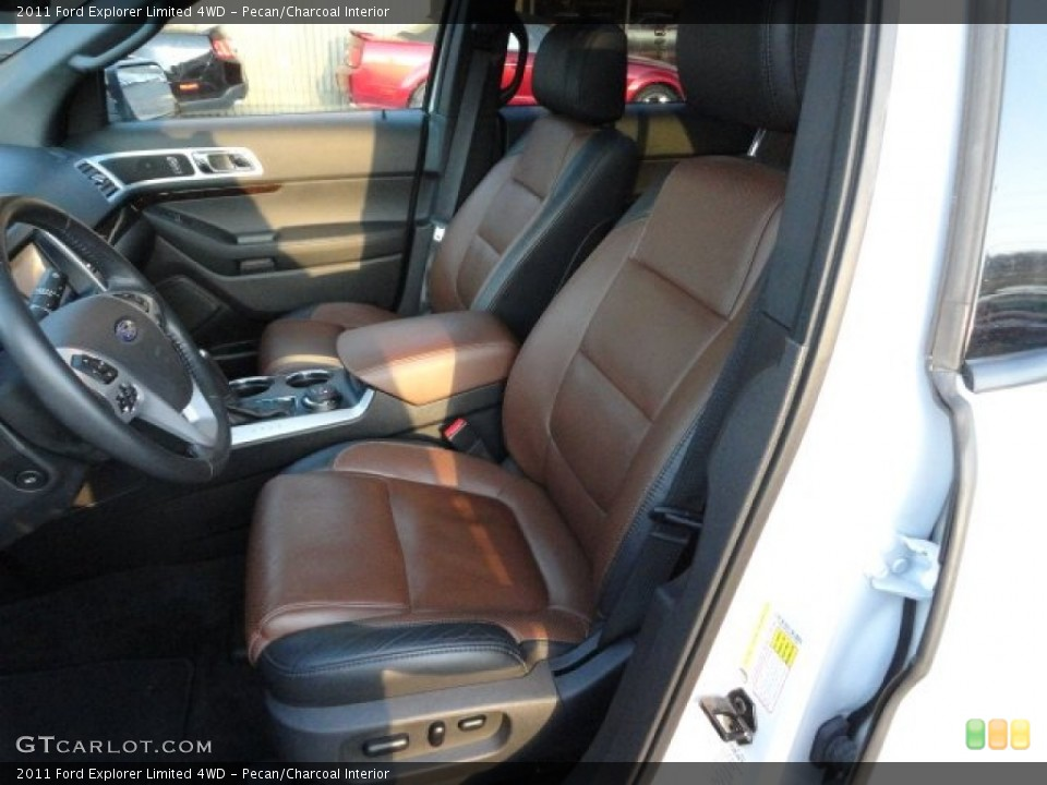 Pecan/Charcoal Interior Photo for the 2011 Ford Explorer Limited 4WD #59338348