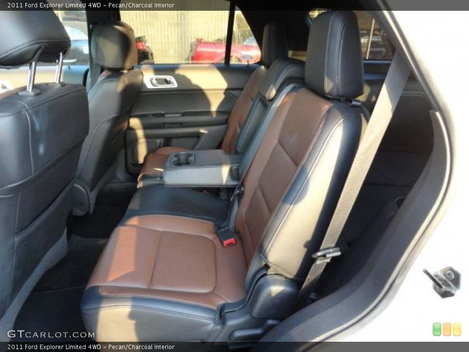Pecan/Charcoal Interior Photo for the 2011 Ford Explorer Limited 4WD #59338357