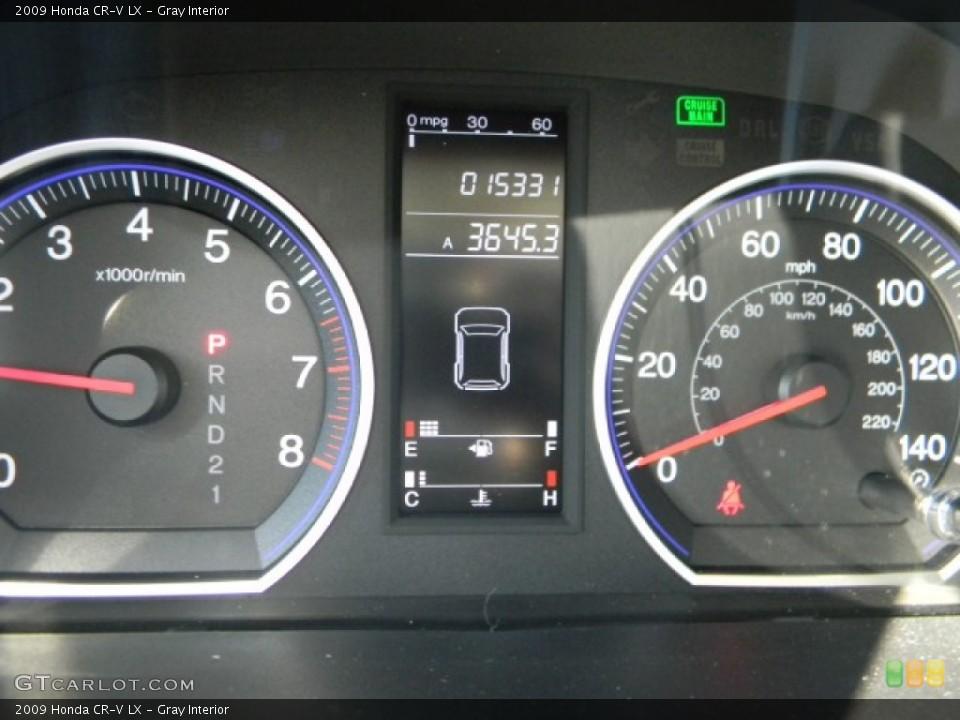 Gray Interior Gauges for the 2009 Honda CR-V LX #59368815