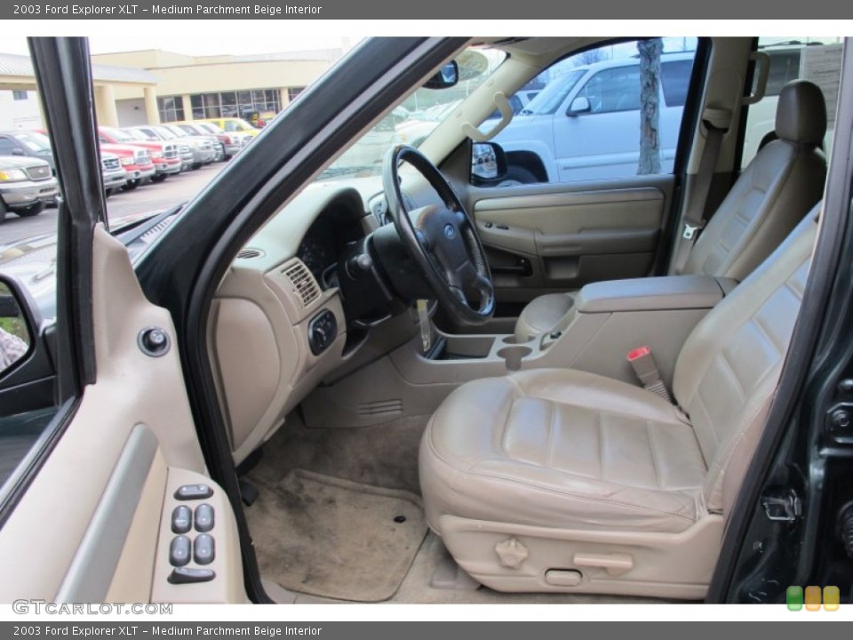 Medium Parchment Beige Interior Photo for the 2003 Ford Explorer XLT #59503602