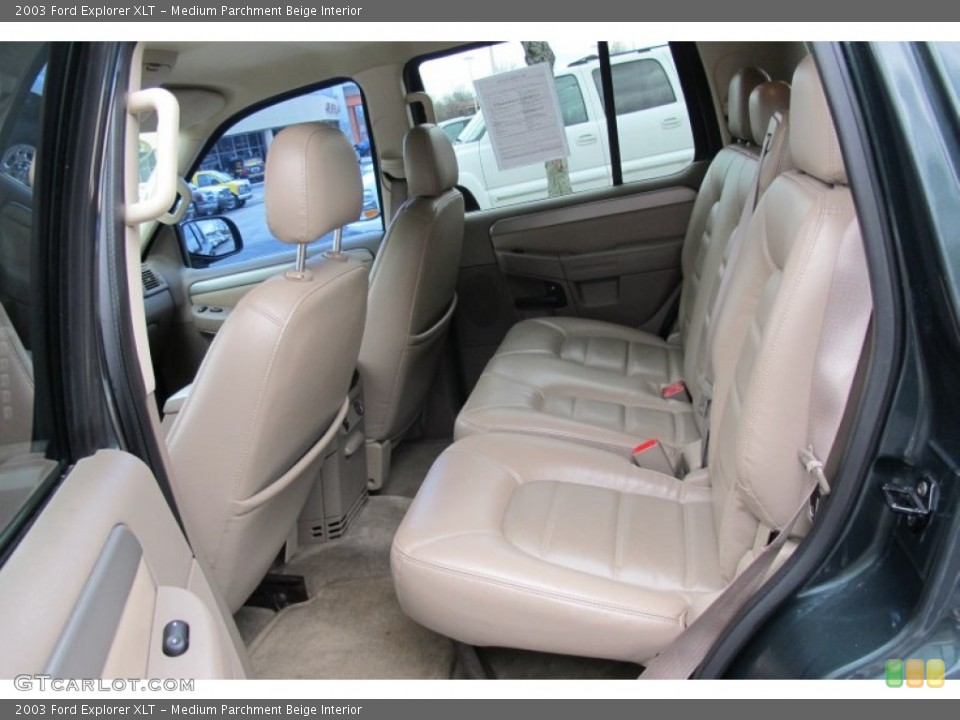 Medium Parchment Beige Interior Photo for the 2003 Ford Explorer XLT #59503617