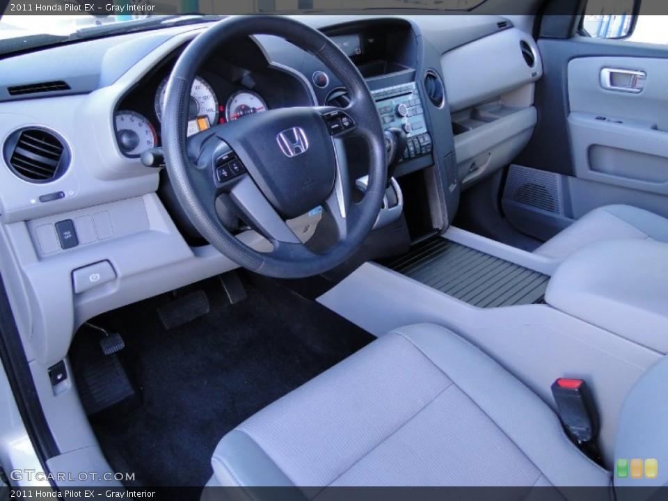 Gray Interior Photo for the 2011 Honda Pilot EX #59515287
