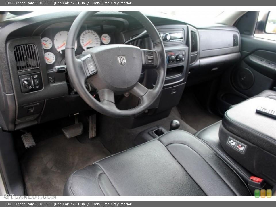 Dark Slate Gray Interior Photo for the 2004 Dodge Ram 3500 SLT Quad Cab 4x4 Dually #59657036