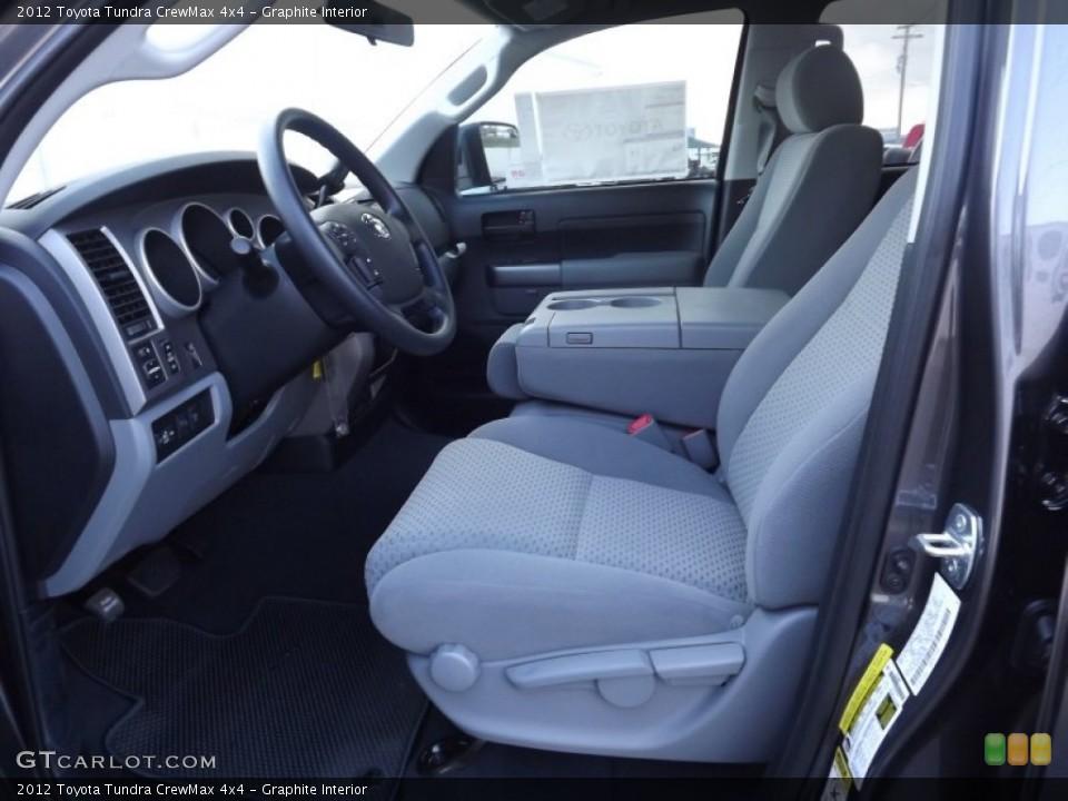 Graphite Interior Photo for the 2012 Toyota Tundra CrewMax 4x4 #59755661