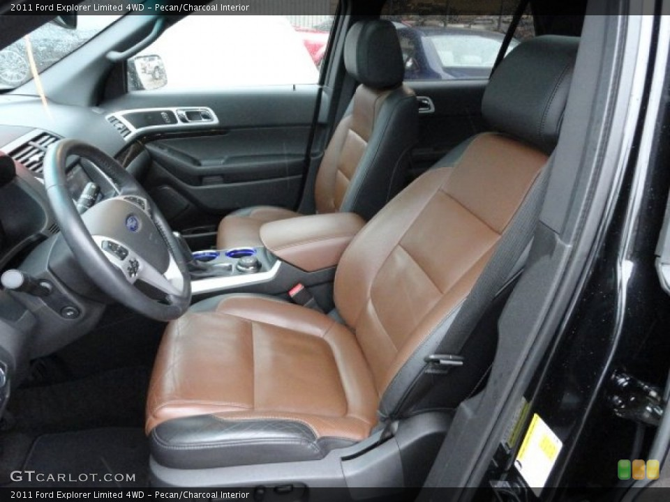 Pecan/Charcoal Interior Photo for the 2011 Ford Explorer Limited 4WD #59759516