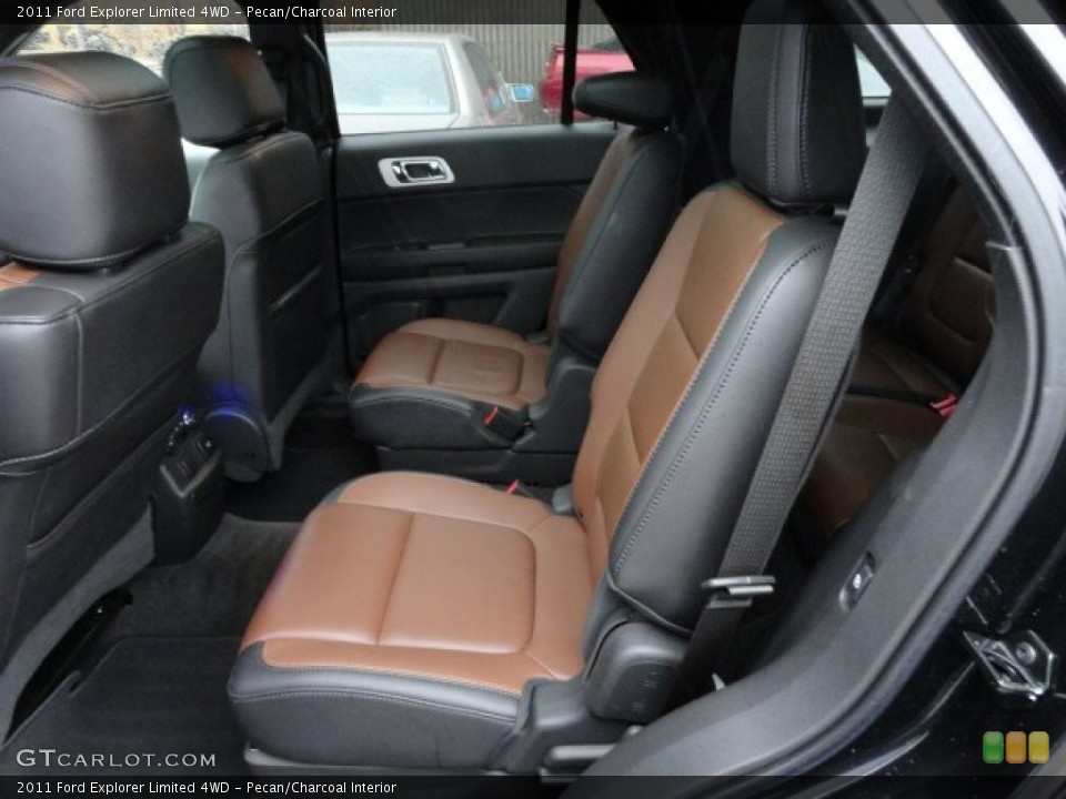 Pecan/Charcoal Interior Photo for the 2011 Ford Explorer Limited 4WD #59759525