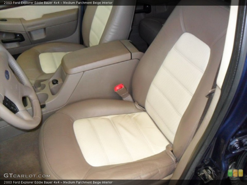 Medium Parchment Beige Interior Photo for the 2003 Ford Explorer Eddie Bauer 4x4 #59788280