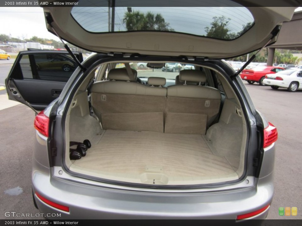 Willow Interior Trunk for the 2003 Infiniti FX 35 AWD #59801235
