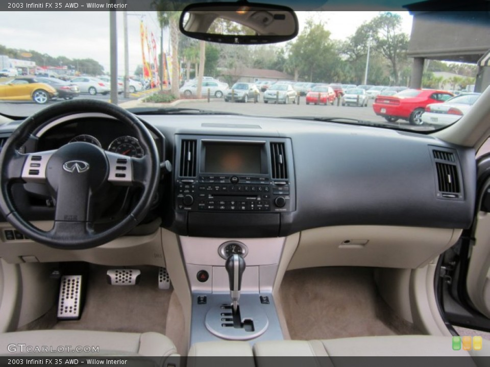 Willow Interior Dashboard for the 2003 Infiniti FX 35 AWD #59801246