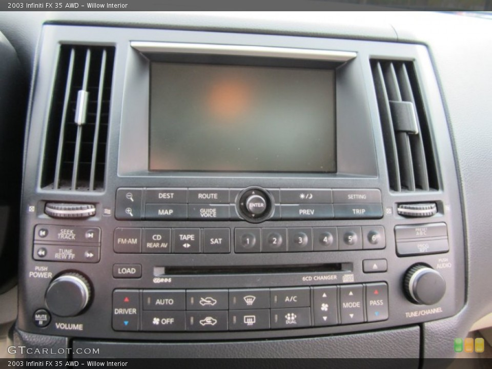 Willow Interior Controls for the 2003 Infiniti FX 35 AWD #59801307