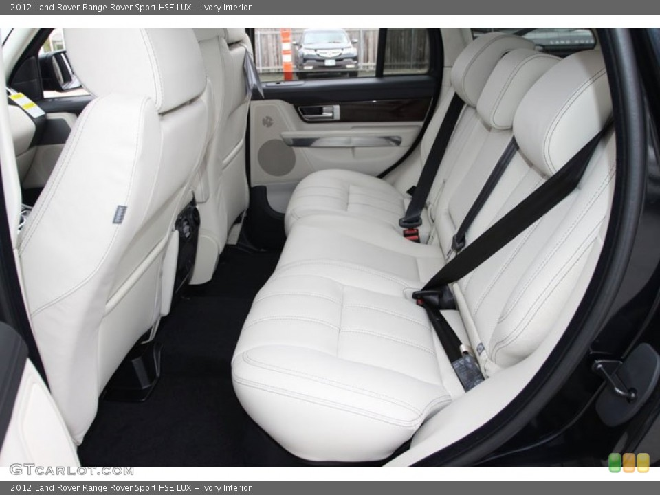 Ivory Interior Rear Seat For The 2012 Land Rover Range Rover Sport Hse Lux 59936252 Gtcarlot Com