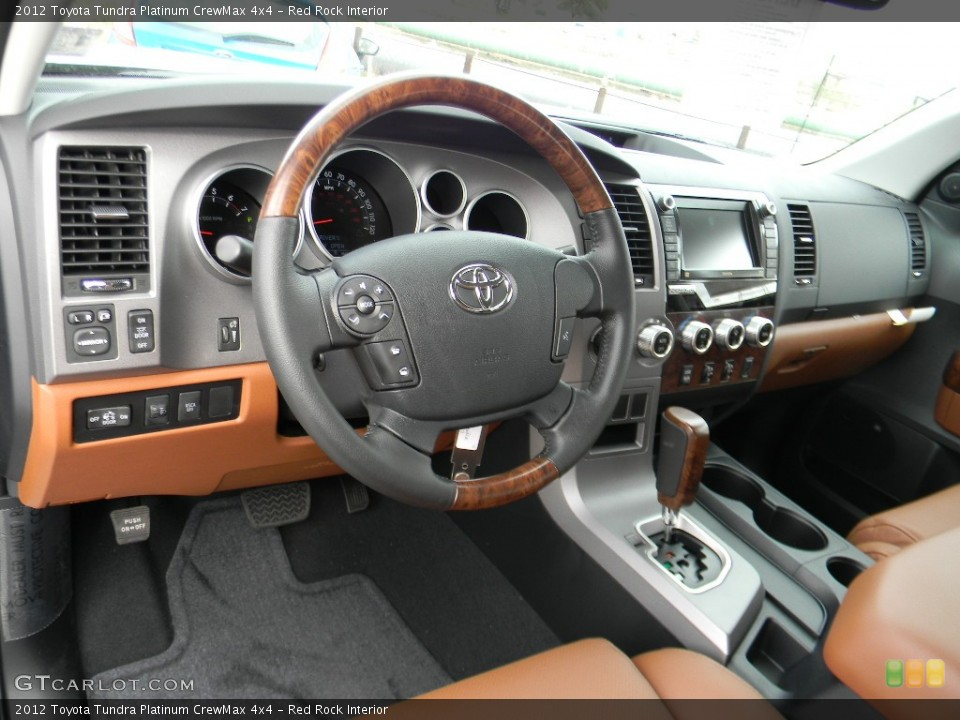 Red Rock Interior Photo for the 2012 Toyota Tundra Platinum CrewMax 4x4 #59992932