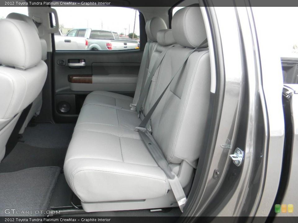 Graphite Interior Rear Seat for the 2012 Toyota Tundra Platinum CrewMax #59993386
