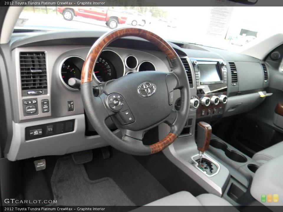 Graphite Interior Photo for the 2012 Toyota Tundra Platinum CrewMax #59993407