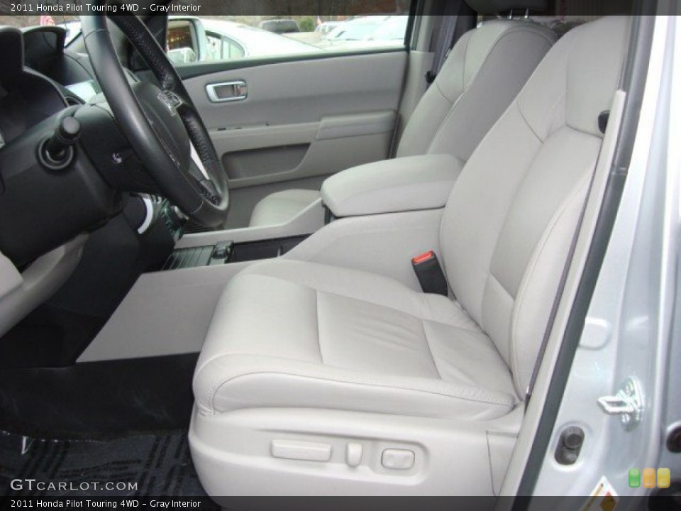 Gray Interior Front Seat for the 2011 Honda Pilot Touring 4WD #60030251