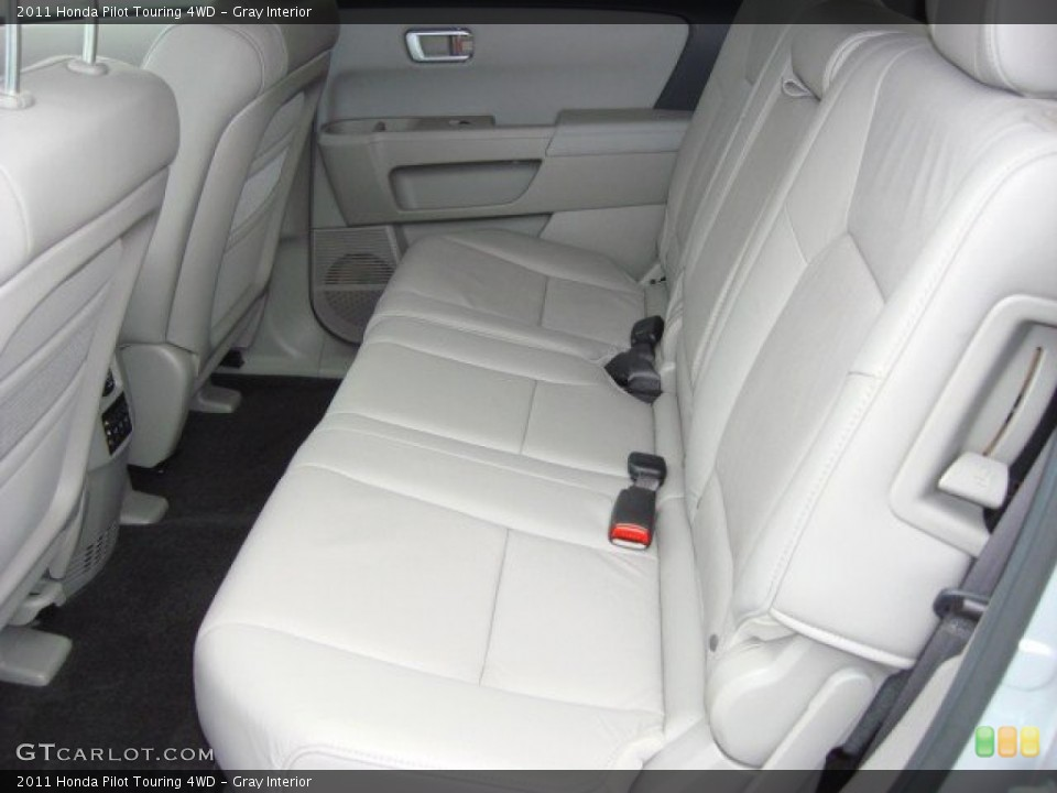 Gray Interior Rear Seat for the 2011 Honda Pilot Touring 4WD #60030269