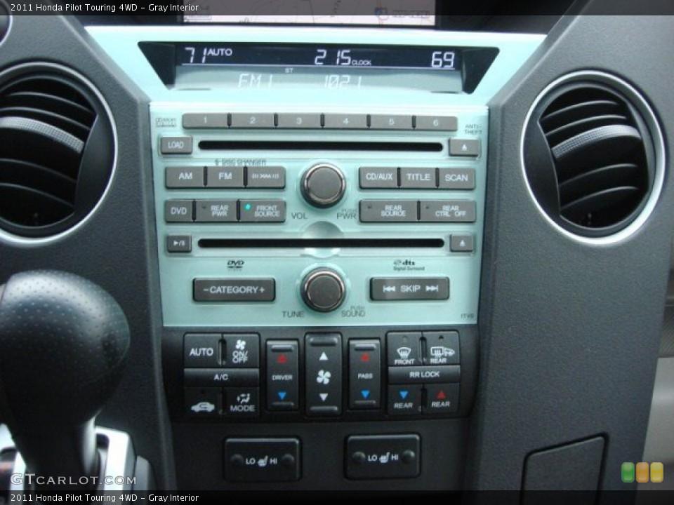 Gray Interior Controls for the 2011 Honda Pilot Touring 4WD #60030392