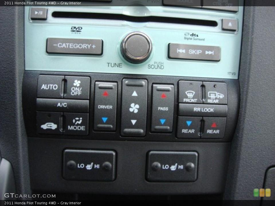 Gray Interior Controls for the 2011 Honda Pilot Touring 4WD #60030398