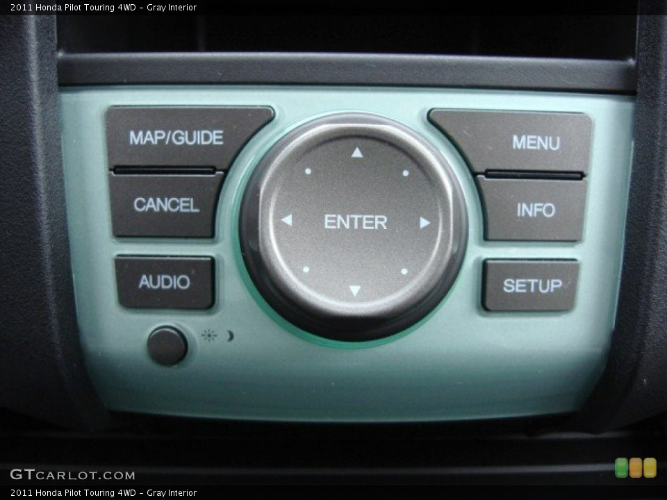 Gray Interior Controls for the 2011 Honda Pilot Touring 4WD #60030416