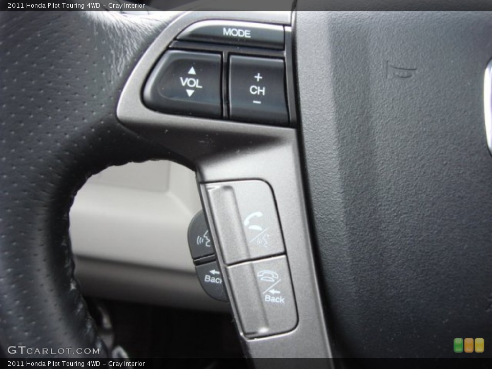 Gray Interior Controls for the 2011 Honda Pilot Touring 4WD #60030461