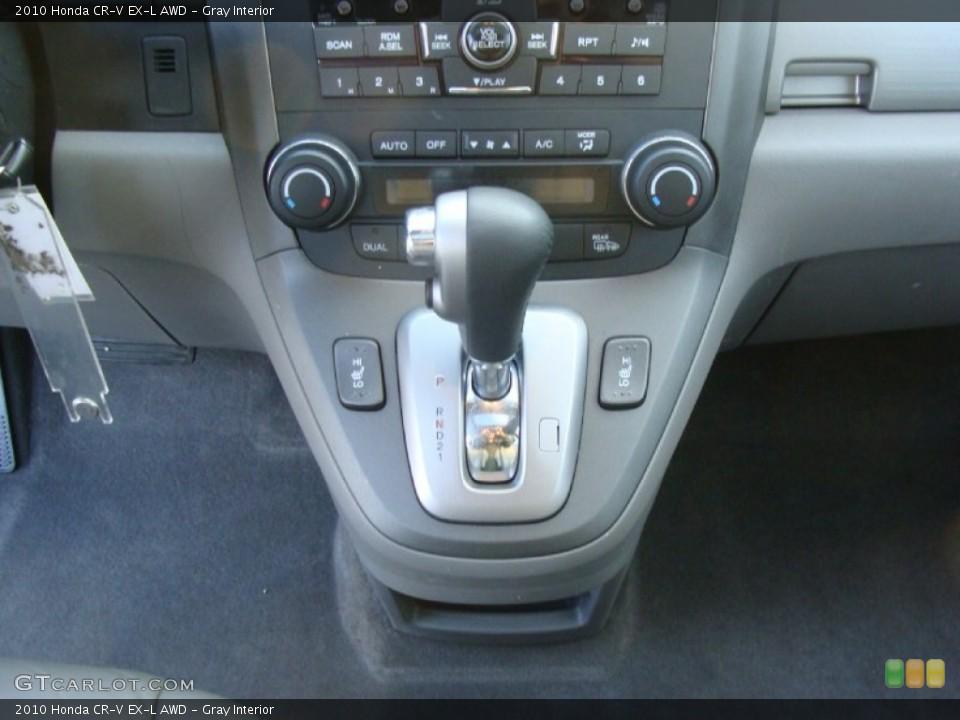 Gray Interior Transmission for the 2010 Honda CR-V EX-L AWD #60055480