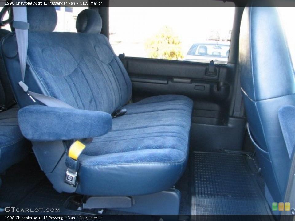Navy 1998 Chevrolet Astro Interiors