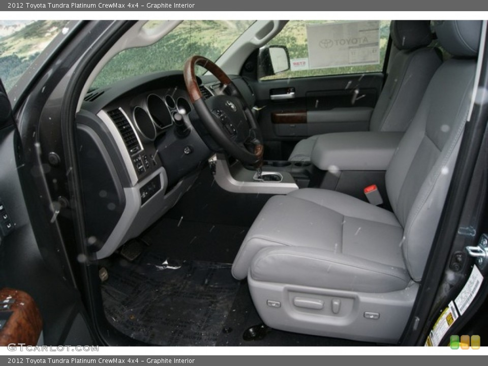 Graphite Interior Photo for the 2012 Toyota Tundra Platinum CrewMax 4x4 #60151171