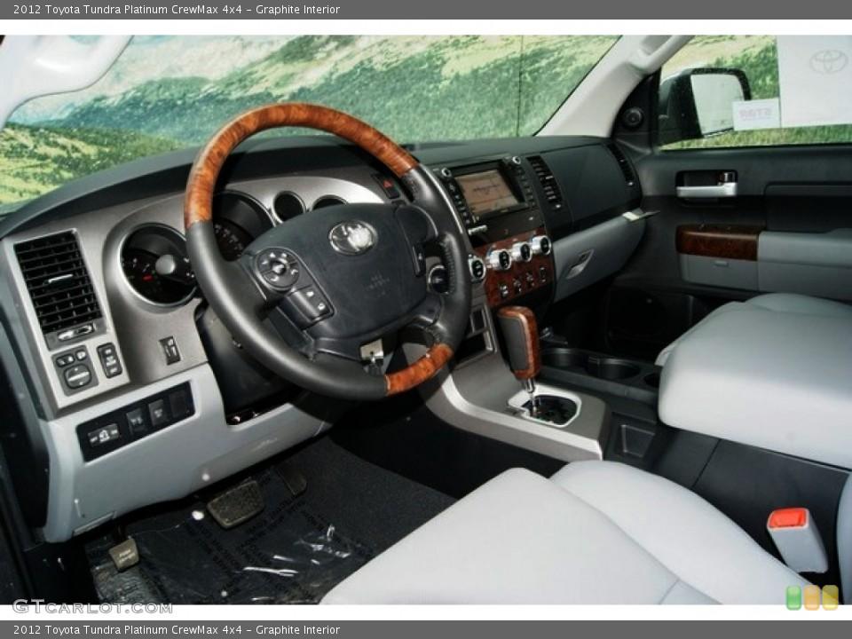 Graphite Interior Photo for the 2012 Toyota Tundra Platinum CrewMax 4x4 #60151181