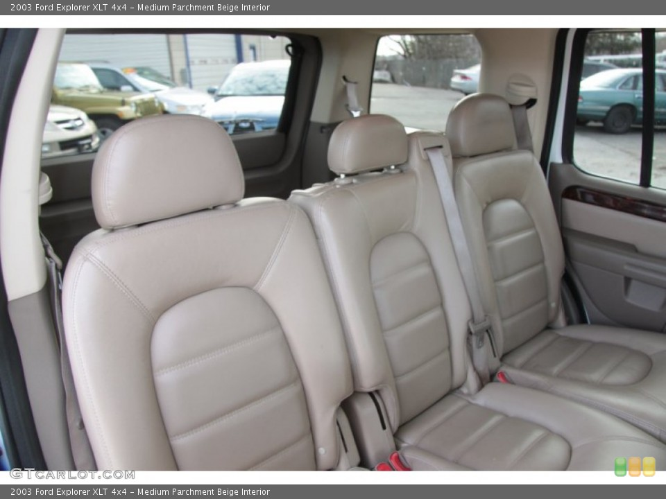 Medium Parchment Beige Interior Photo for the 2003 Ford Explorer XLT 4x4 #60370548