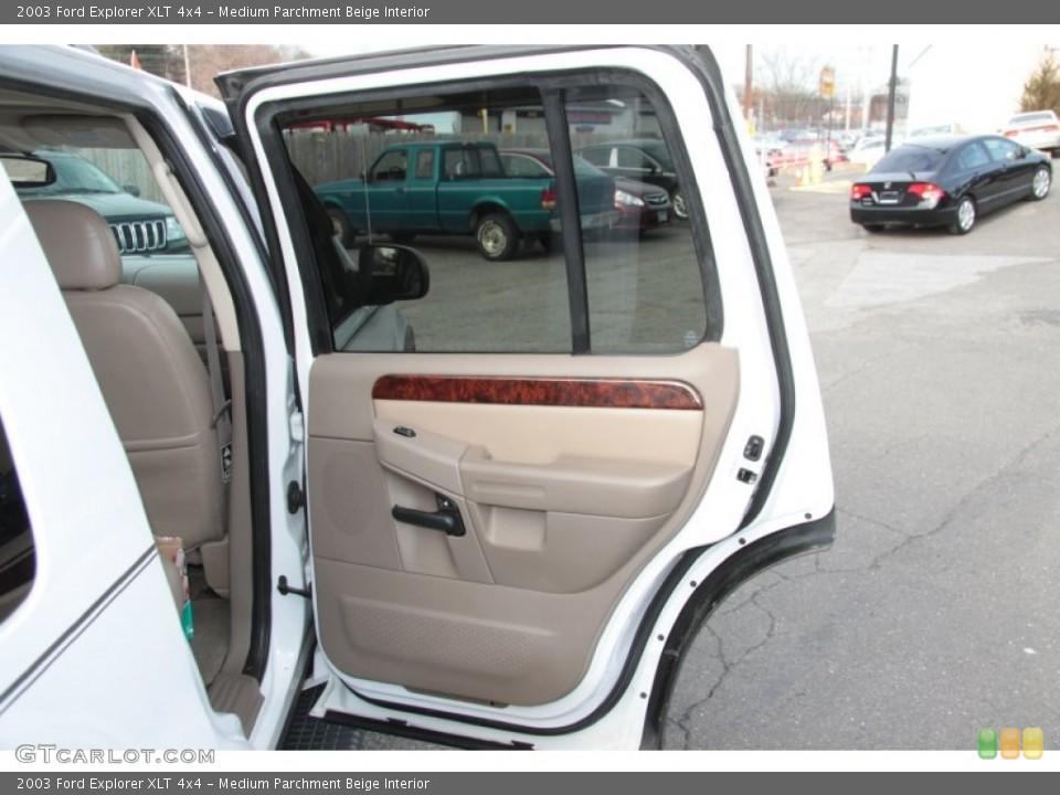 Medium Parchment Beige Interior Door Panel for the 2003 Ford Explorer XLT 4x4 #60370596