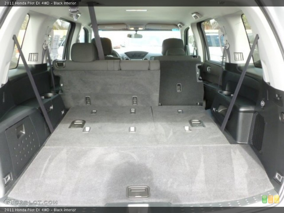 Black Interior Trunk for the 2011 Honda Pilot EX 4WD #60439322