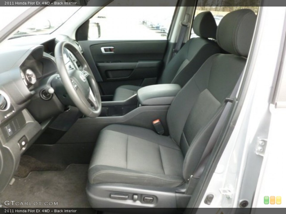 Black Interior Photo for the 2011 Honda Pilot EX 4WD #60439349