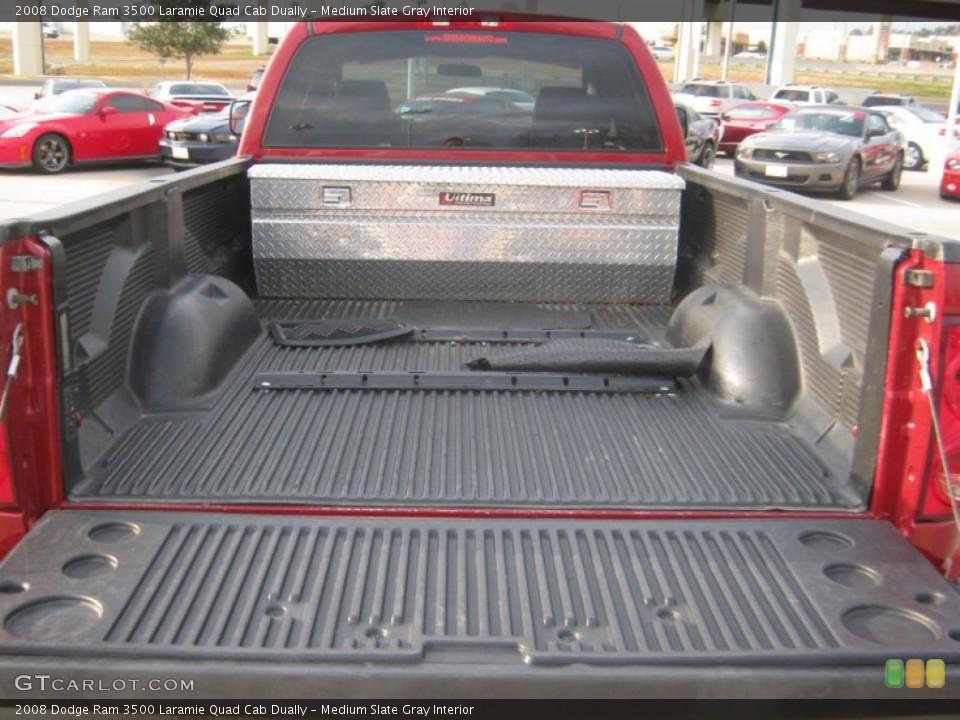 Medium Slate Gray Interior Trunk for the 2008 Dodge Ram 3500 Laramie Quad Cab Dually #60512598