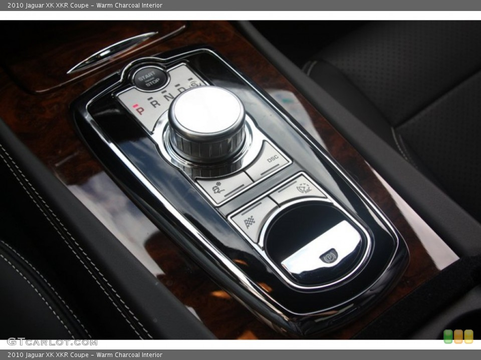 Warm Charcoal Interior Transmission for the 2010 Jaguar XK XKR Coupe #60530132