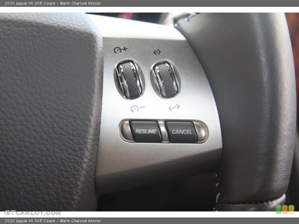 Warm Charcoal Interior Controls for the 2010 Jaguar XK XKR Coupe #60530152