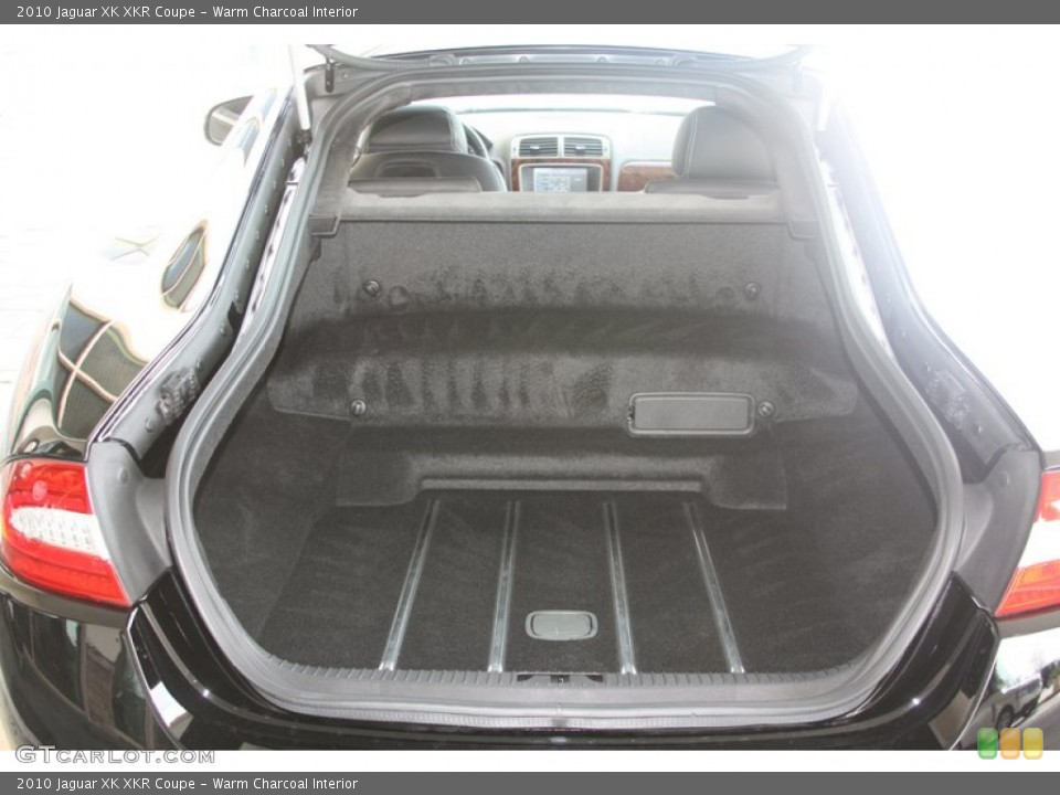 Warm Charcoal Interior Trunk for the 2010 Jaguar XK XKR Coupe #60530193