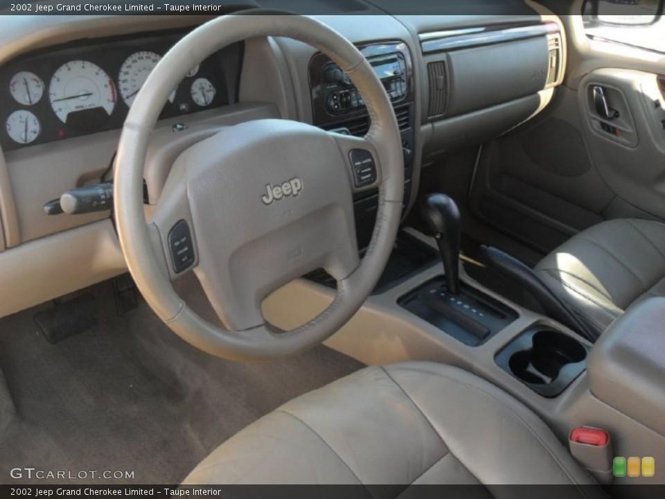 Taupe 2002 Jeep Grand Cherokee Interiors